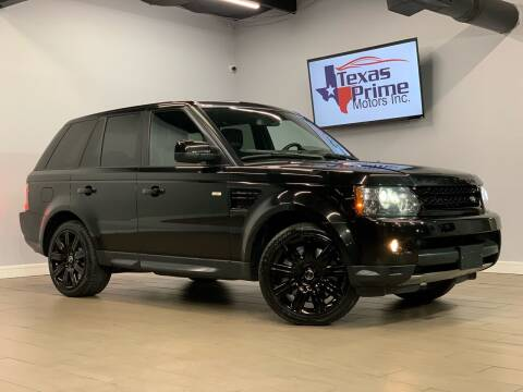 2012 Land Rover Range Rover Sport for sale at Texas Prime Motors in Houston TX