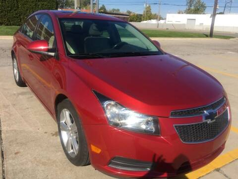 2014 Chevrolet Cruze for sale at City Auto Sales in Roseville MI