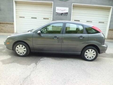 2005 Ford Focus for sale at Boot Jack Auto Sales in Ridgway PA