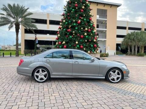 2013 Mercedes-Benz S-Class for sale at Americarsusa in Hollywood FL