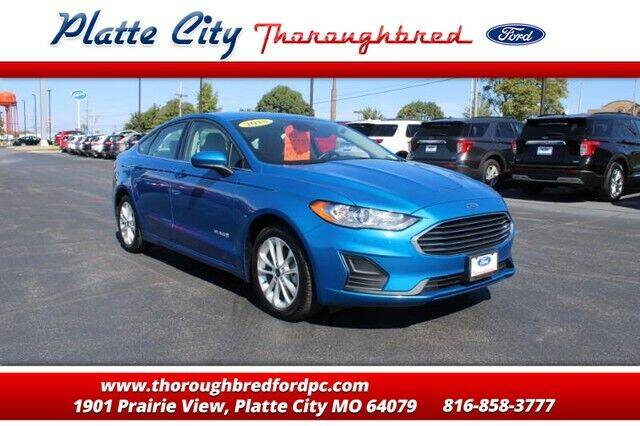 2019 Ford Fusion Hybrid for sale in Platte City, MO