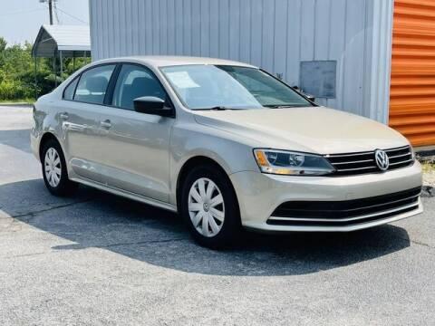 2016 Volkswagen Jetta for sale at RUSTY WALLACE CADILLAC GMC KIA in Morristown TN