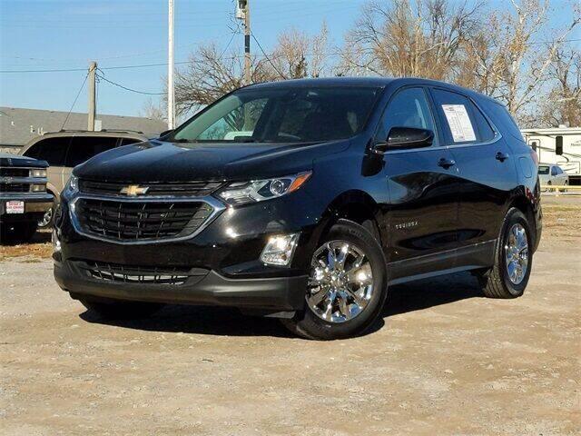 2020 Chevrolet Equinox for sale at Bryans Car Corner in Chickasha OK