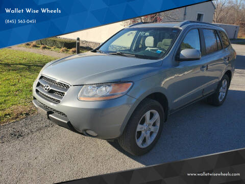 2009 Hyundai Santa Fe for sale at Wallet Wise Wheels in Montgomery NY
