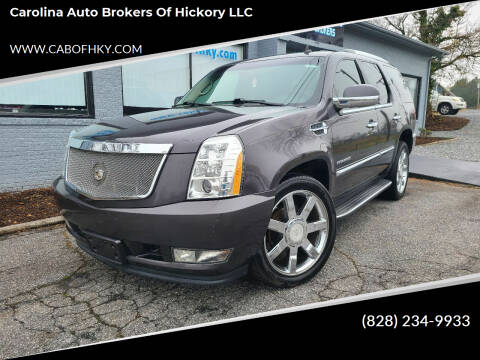 2011 Cadillac Escalade for sale at Carolina Auto Brokers of Hickory LLC in Newton NC