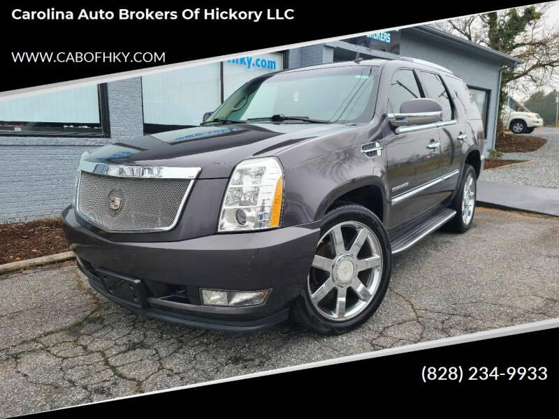 2011 Cadillac Escalade for sale at Carolina Auto Brokers of Hickory LLC in Newton NC