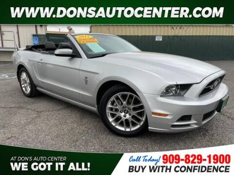 2013 Ford Mustang for sale at Dons Auto Center in Fontana CA