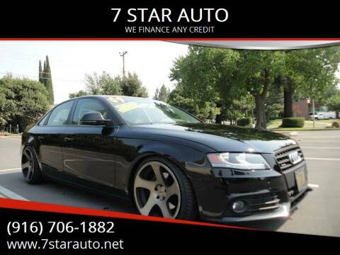 2009 Audi A4 for sale at 7 STAR AUTO in Sacramento CA