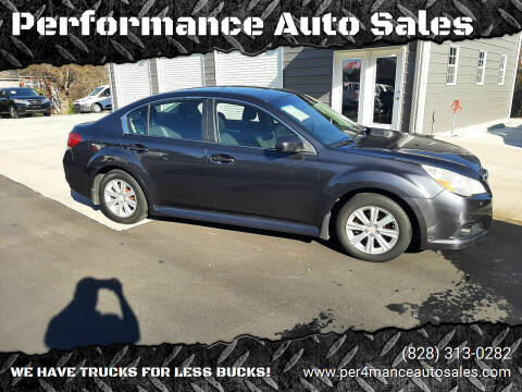 2012 Subaru Legacy for sale at Performance Auto Sales in Hickory NC