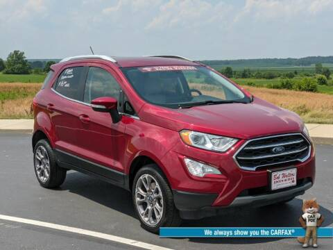 2019 Ford EcoSport for sale at Bob Walters Linton Motors in Linton IN