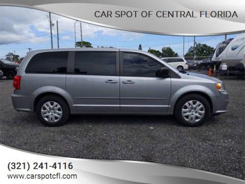 2017 Dodge Grand Caravan for sale at Car Spot Of Central Florida in Melbourne FL
