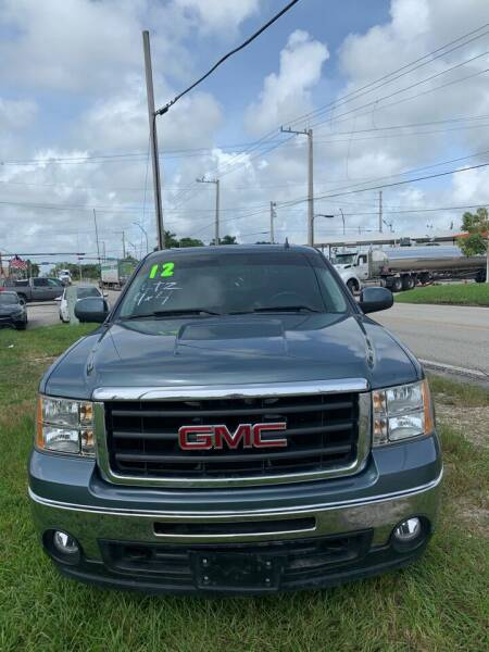 2012 GMC Sierra 1500 for sale at VC Auto Sales in Miami FL