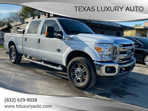 2015 Ford F-250 Super Duty for sale at Texas Luxury Auto in Houston TX