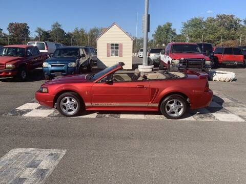 2002 Ford Mustang for sale at FUELIN FINE AUTO SALES INC in Saylorsburg PA