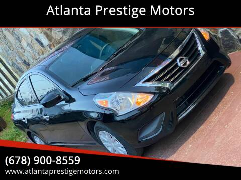 2016 Nissan Versa for sale at Atlanta Prestige Motors in Decatur GA