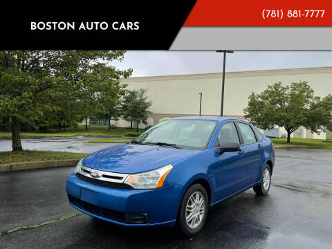 2011 Ford Focus for sale at Boston Auto Cars in Dedham MA