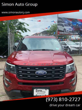2016 Ford Explorer for sale at Simon Auto Group in Newark NJ