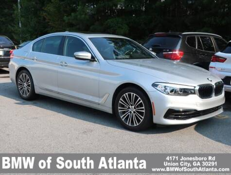 2020 BMW 5 Series for sale at Carol Benner @ BMW of South Atlanta in Union City GA