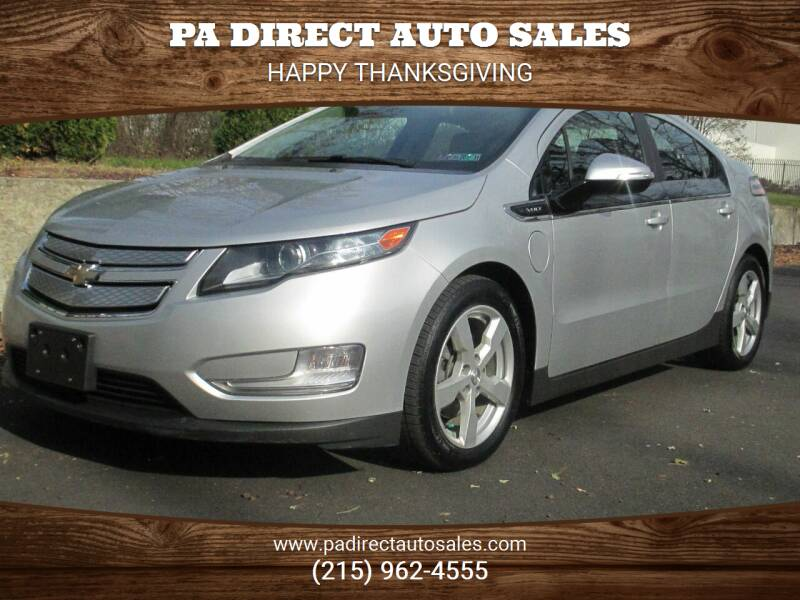 2013 Chevrolet Volt for sale at PA Direct Auto Sales in Levittown PA