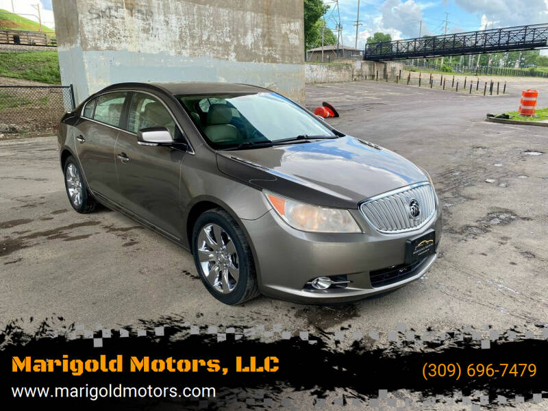 2010 Buick LaCrosse for sale at Marigold Motors, LLC in Pekin IL