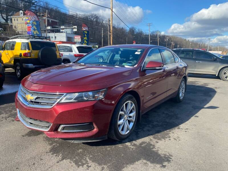 2016 Chevrolet Impala for sale at Ultra 1 Motors in Pittsburgh PA