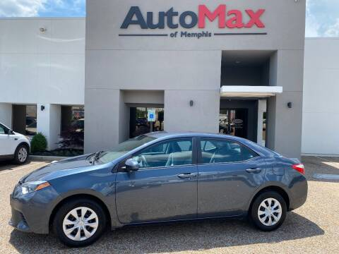 2015 Toyota Corolla for sale at AutoMax of Memphis - Nate Palmer in Memphis TN
