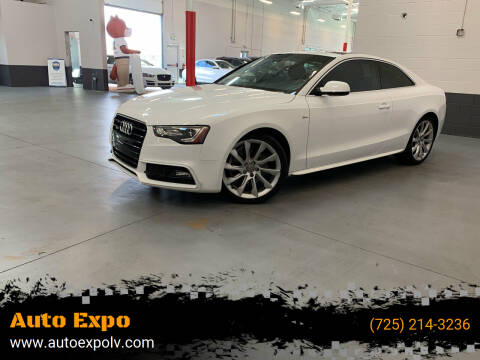 2015 Audi A5 for sale at Auto Expo in Las Vegas NV