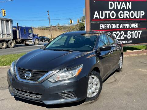 2016 Nissan Altima for sale at Divan Auto Group - 3 in Feasterville PA