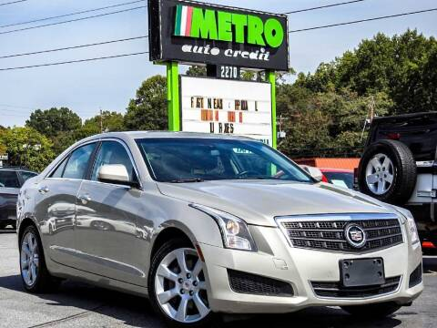 2014 Cadillac ATS for sale at Used Imports Auto - Metro Auto Credit in Smyrna GA