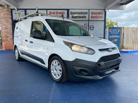 2014 Ford Transit Connect Cargo for sale at ELITE AUTO WORLD in Fort Lauderdale FL