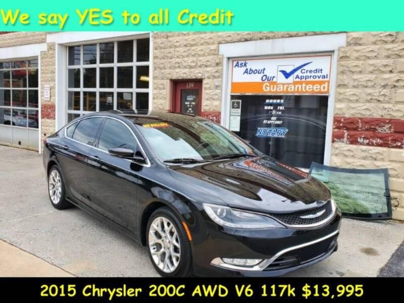 2015 Chrysler 200 for sale at Fortnas Used Cars in Jonestown PA