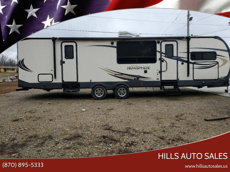 2016 Forest River Hemisphere for sale at Hills Auto Sales in Salem AR
