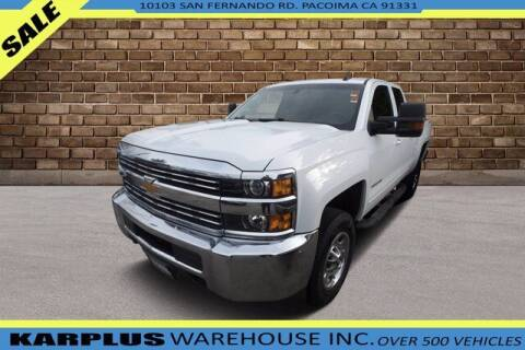 2018 Chevrolet Silverado 2500HD for sale at Karplus Warehouse in Pacoima CA