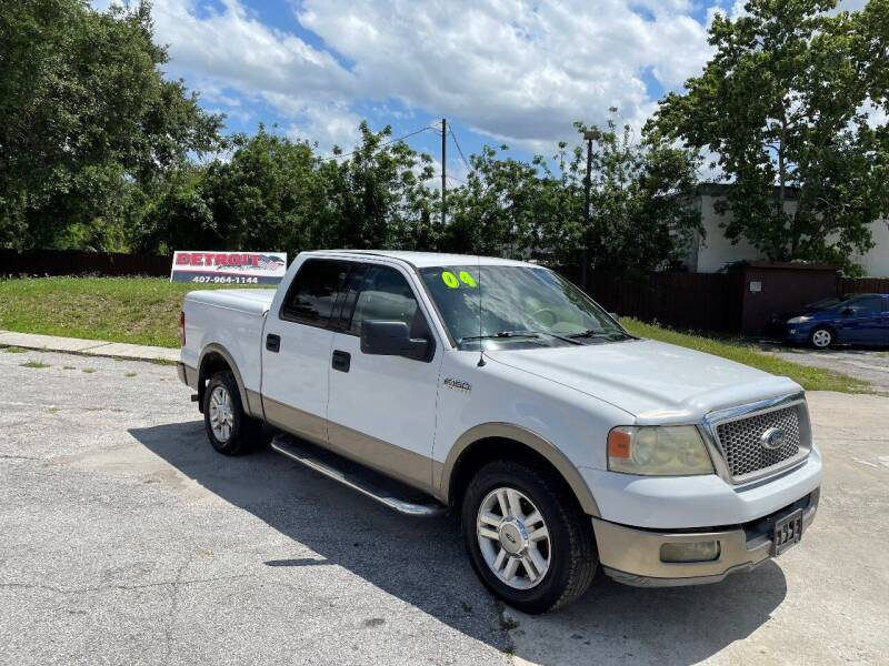 2004 Ford F-150 for sale at Detroit Cars and Trucks in Orlando FL
