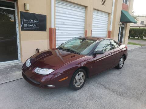 2002 Saturn S-Series for sale at Cad Auto Sales Inc in Miami FL