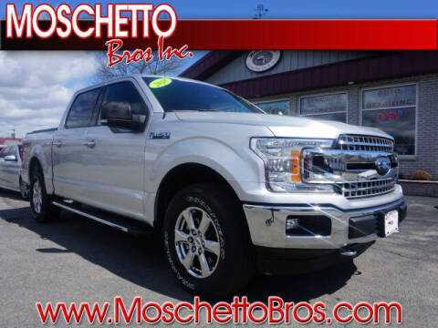 2018 Ford F-150 for sale at Moschetto Bros. Inc in Methuen MA