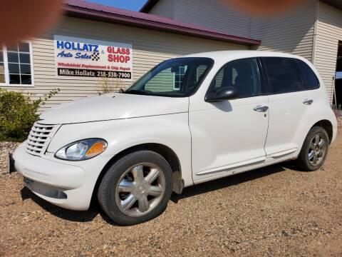 2003 Chrysler PT Cruiser for sale at Hollatz Auto Sales in Parkers Prairie MN