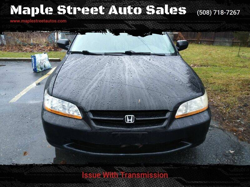 1999 Honda Accord for sale at Maple Street Auto Sales in Bellingham MA