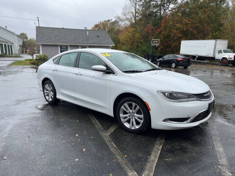 2016 Chrysler 200 for sale at Elite Auto Sales in North Dartmouth MA