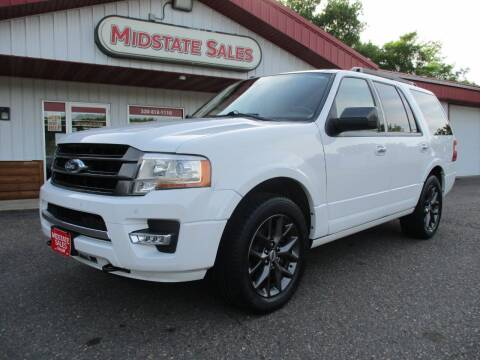 2017 Ford Expedition for sale at Midstate Sales in Foley MN