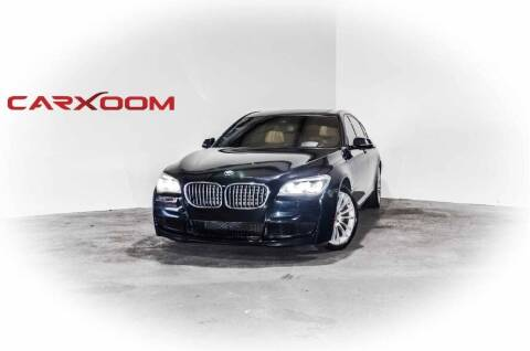 2014 BMW 7 Series for sale at CarXoom in Marietta GA