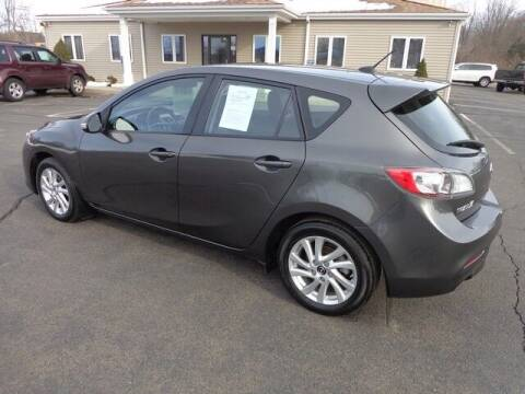 2013 Mazda MAZDA3 for sale at BETTER BUYS AUTO INC in East Windsor CT