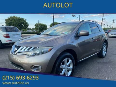 2009 Nissan Murano for sale at AUTOLOT in Bristol PA