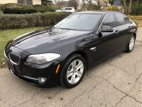 2012 BMW 5 Series for sale at Urban Motors llc. in Columbus OH