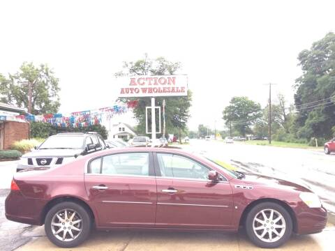 2007 Buick Lucerne for sale at Action Auto Wholesale in Painesville OH
