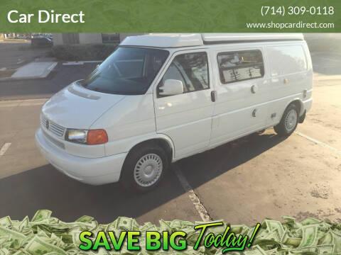 2000 Volkswagen EuroVan for sale at Car Direct in Orange CA