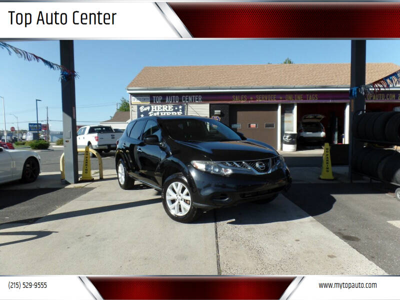 2011 Nissan Murano for sale at Top Auto Center in Quakertown PA