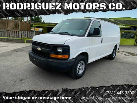 2013 Chevrolet Express Cargo for sale at RODRIGUEZ MOTORS CO. in Houston TX