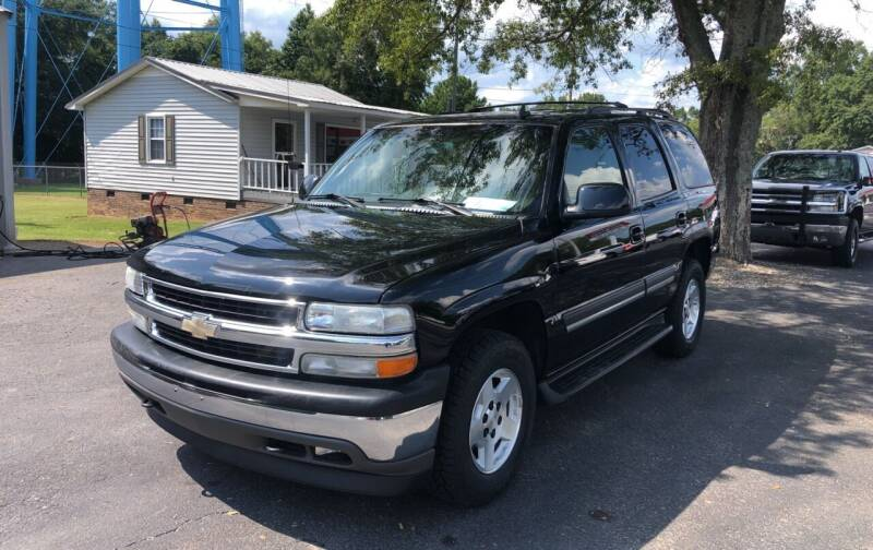 2006 Chevrolet Tahoe for sale at Jack Foster Used Cars LLC in Honea Path SC