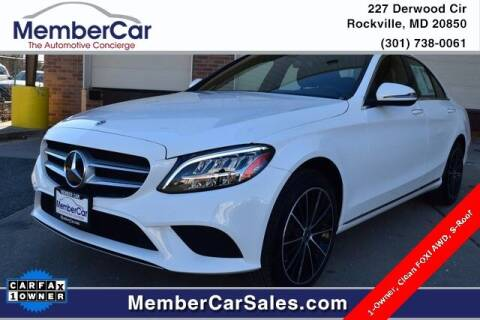 2020 Mercedes-Benz C-Class for sale at MemberCar in Rockville MD
